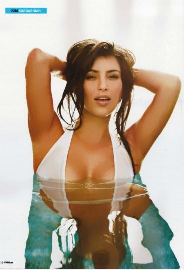 Kim Kardashian @ FHM Spain